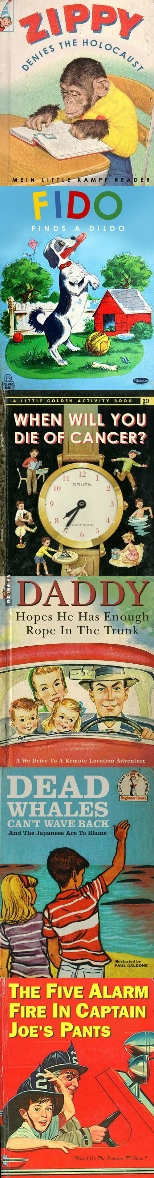 Compilation of badly named childrens books