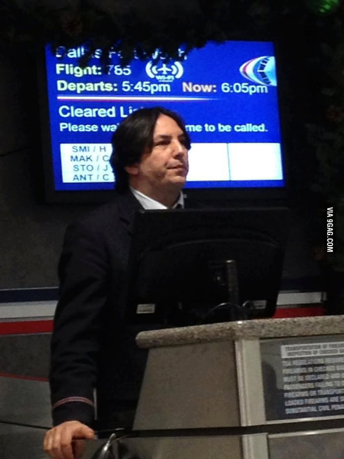 Snape got a new job