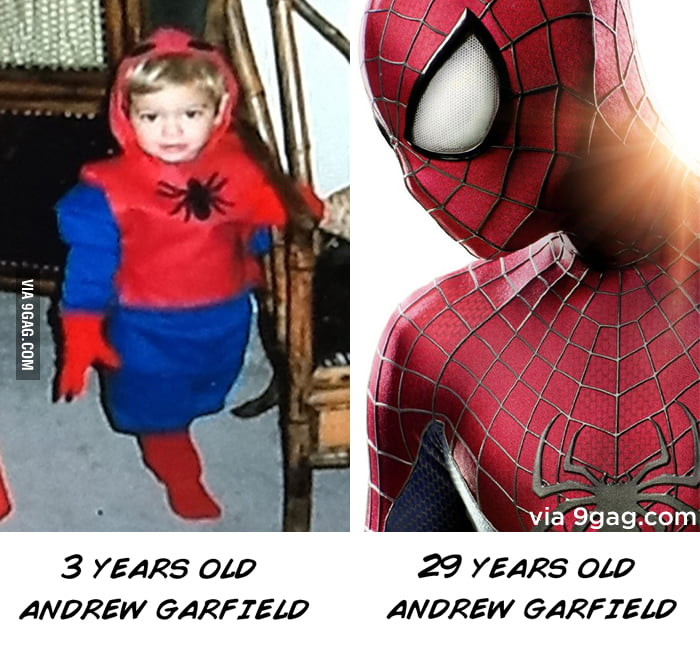 Keep dreaming: Andrew Garfield's story.