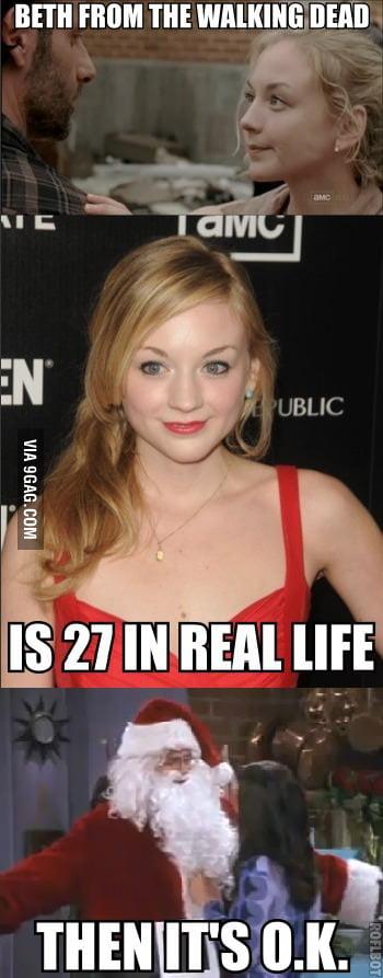 Beth from The Walking Dead