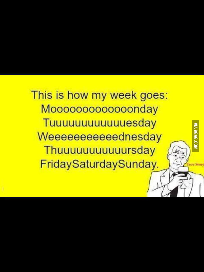 Every week is the same..