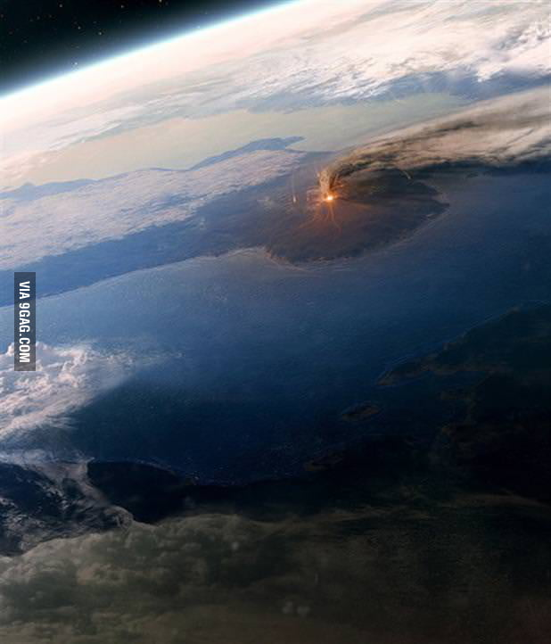 Mordor from space