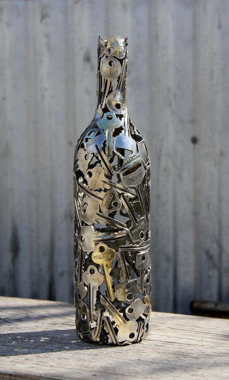 Awesome key bottle