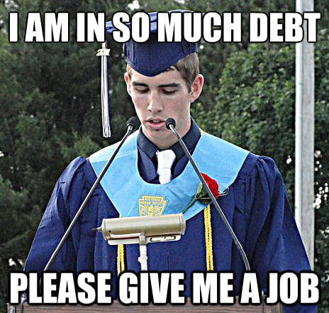 What college students should really say at graduation