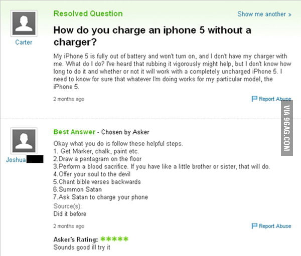How do I charge an iphone 5