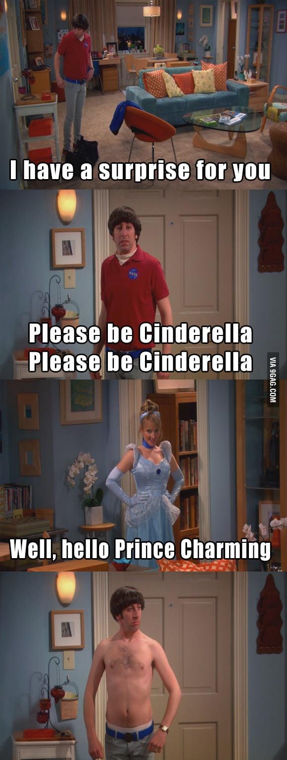 Please be Cinderella. Please be Cinderella