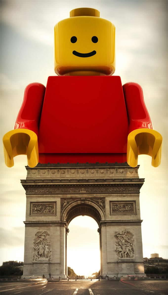 You will never see the Arc de Triomphe the same again