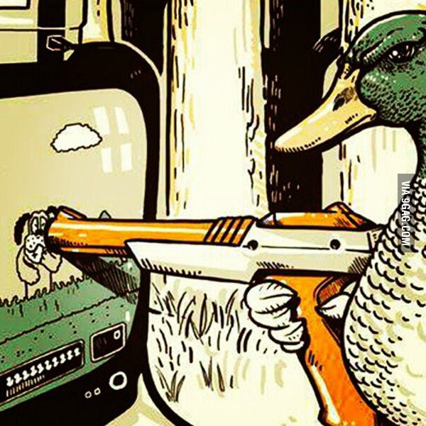 The tables have turned (Duck Hunt)