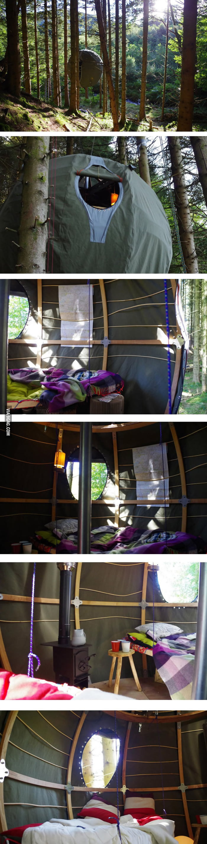 Awesome tent.