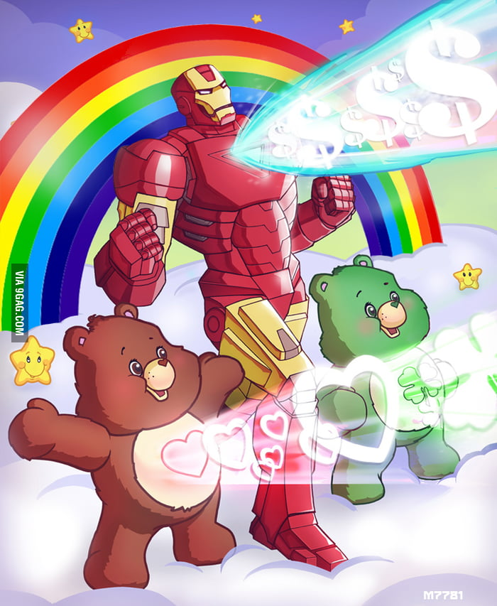 F**k The Avengers, I wanna be a care bear.