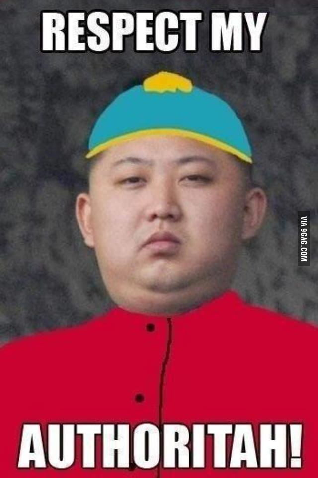 If Cartman was real he would be King-Jung Un