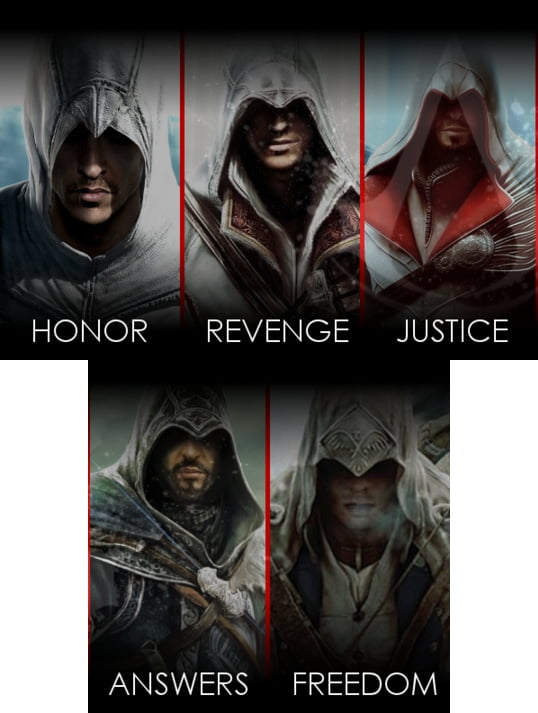 Assassins Creed main ideas!