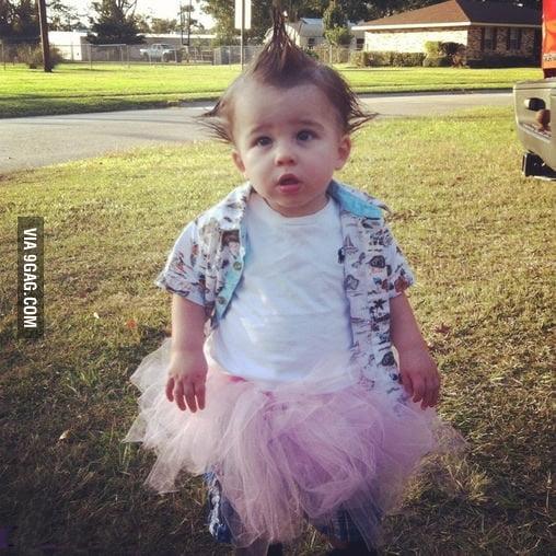 Ace Ventura baby cosplay