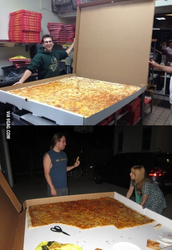 World's largest pizza box serves up to 70 people