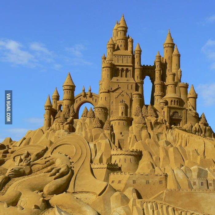 Sandcastle level speechless