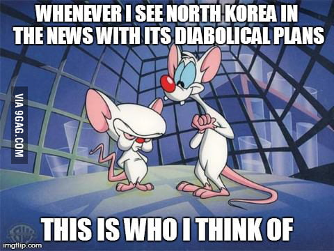 Pinky and the Kim Jong