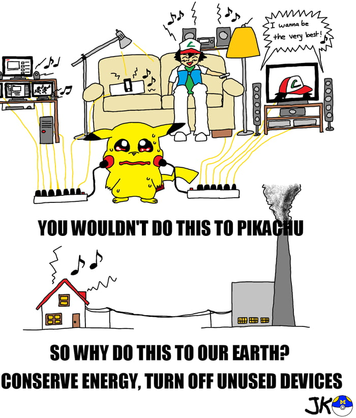Pokemon environmentalism