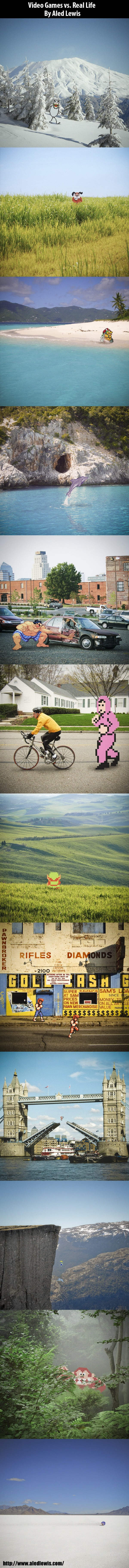 Video games Vs Real life