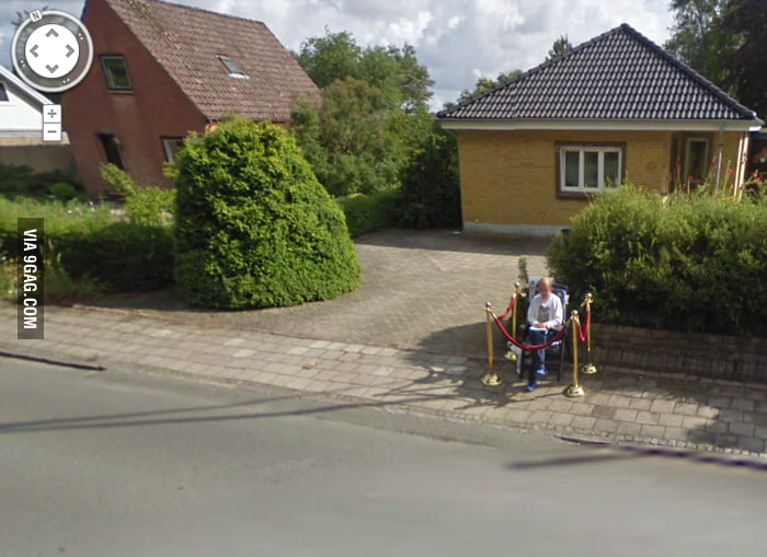 This is why I love street view