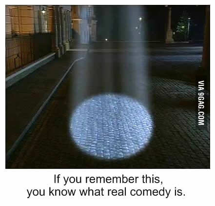 Real comedy