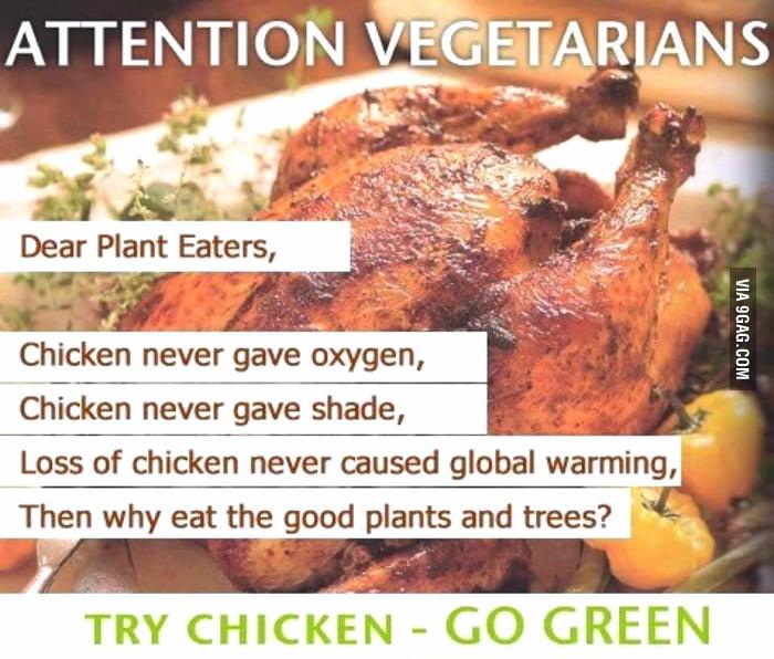 Go green.