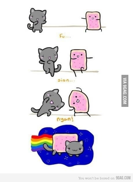 Nyan cat born 9gag for Architecture students 9gag