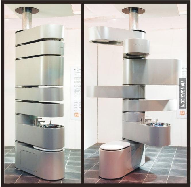 The swiss army bathroom 9gag for Bathroom 9gag