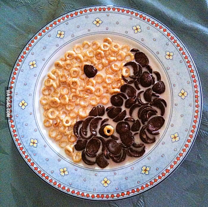 Get a well balanced breakfast! - 9GAG