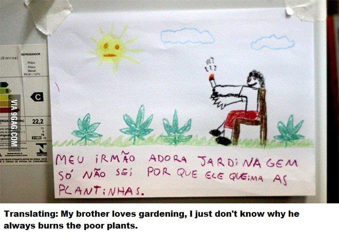 Gardening.. yea sure