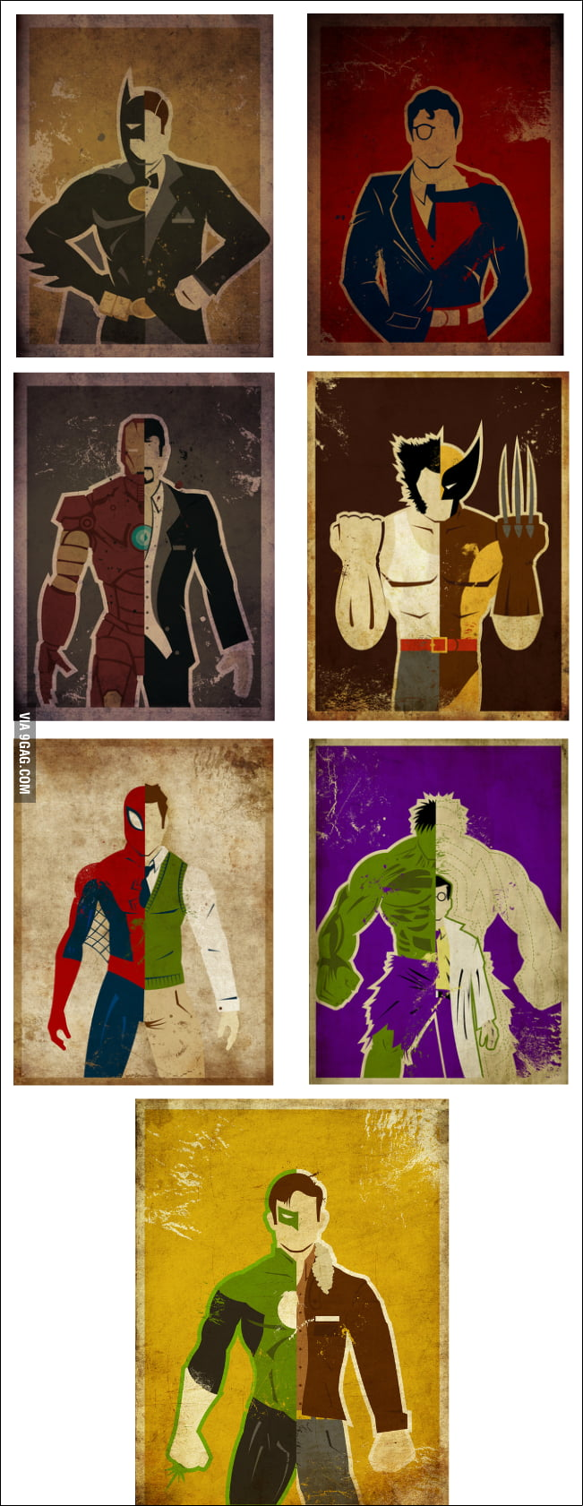 Choose your alter ego!