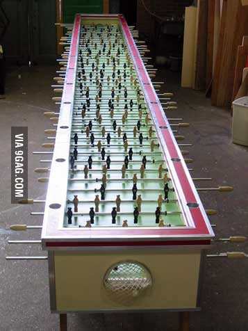 Table football, Asian level