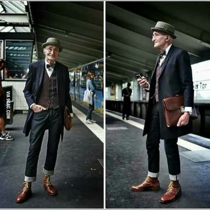 At 104 years old he still got his swag