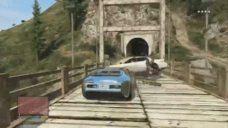 The most insane GTA 5 getaway