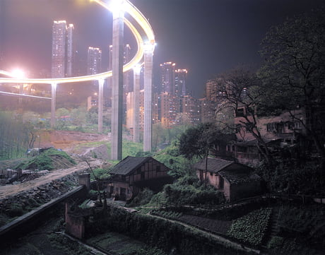 Old meets new in China