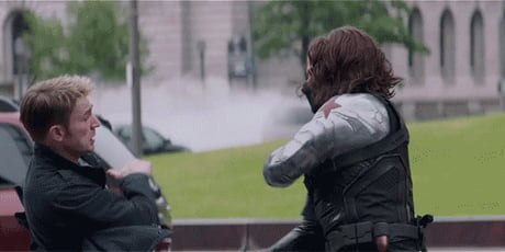 Bucky, you badass