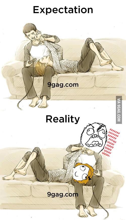 Gamer Couple  Expectation vs RealityGamer Girls Expectation Vs Reality