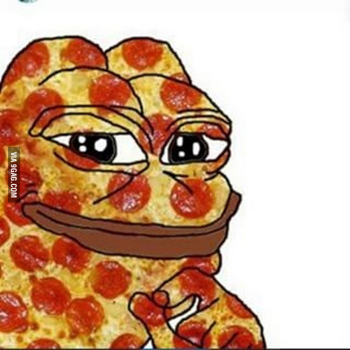 Pepe upvote in 4 20 seconds for infinite pizza of your liking 9gag