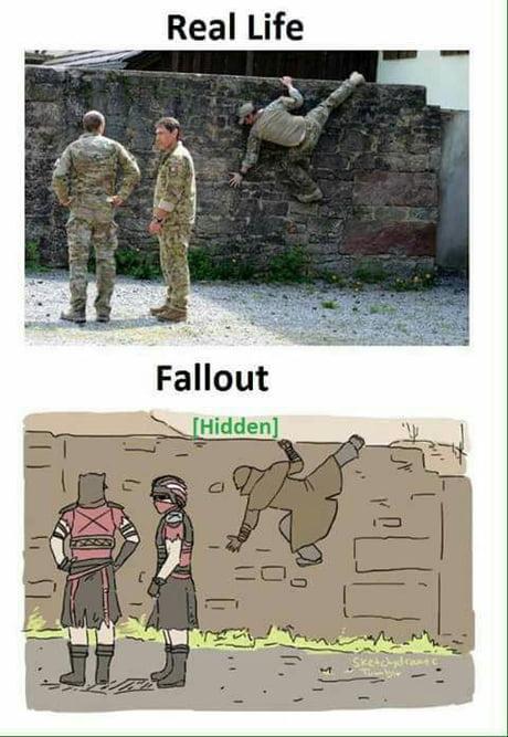 Fallout be like: