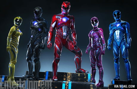 The Suits for Power Rangers Movie