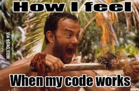 That feeling as a programmer