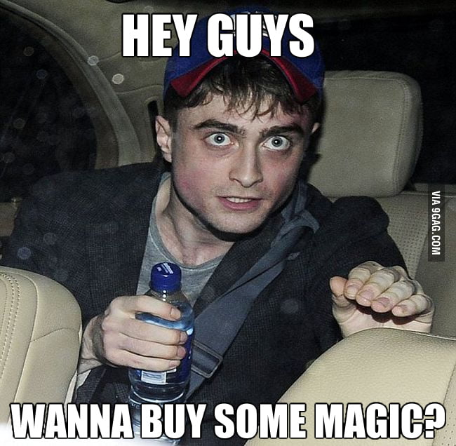 Harry Potter is a grown wizard now