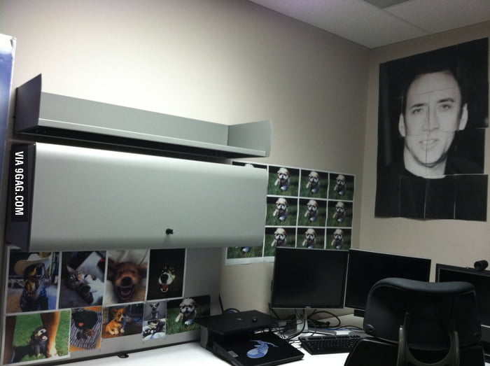 New employee starts Monday, we have his desk ready