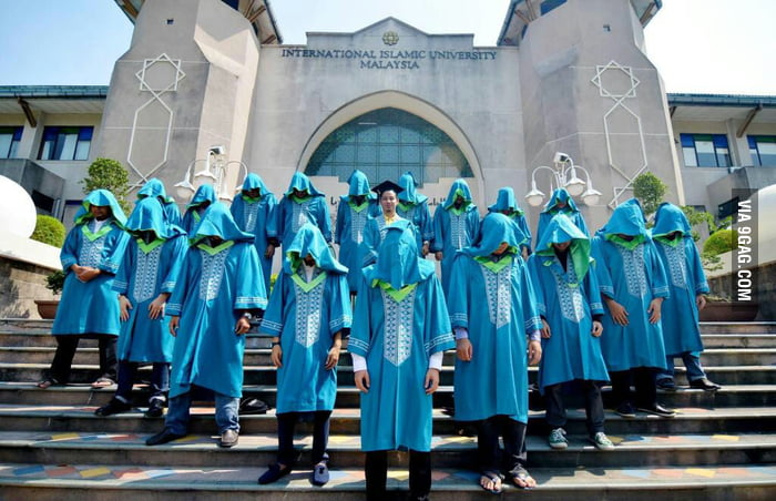 IIUM graduates, or you can called it Assassin's Creed.