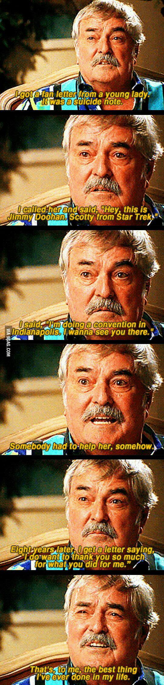 Respect, Mr. Scotty. Respect.
