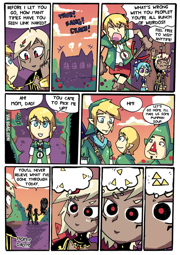 Link + Tingle = Linkle. - 9GAG