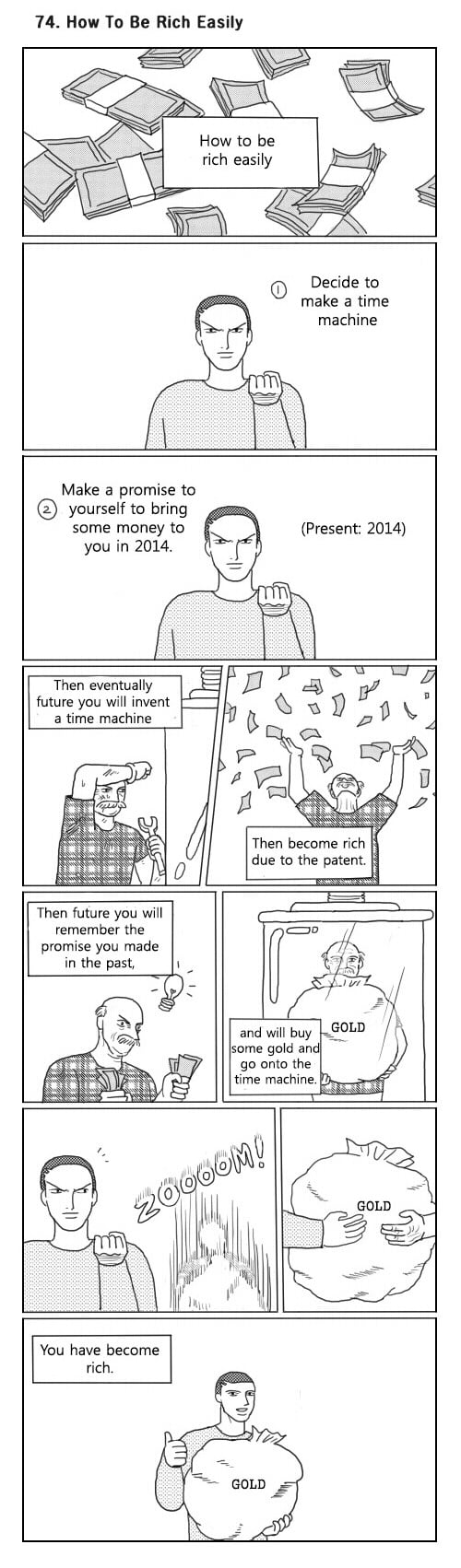 how to invent a time machine