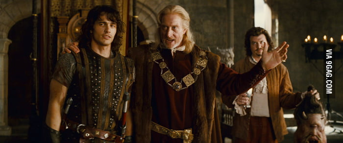 (I'm Slow...) And Found Tywin Lannister As A King In A Movie, Also! (Your Highness)