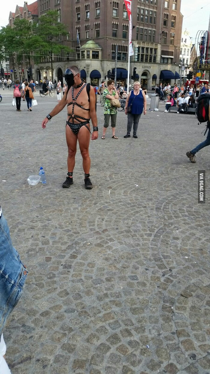I'm in Amsterdam too, this is the only semi-naked person that I've found.