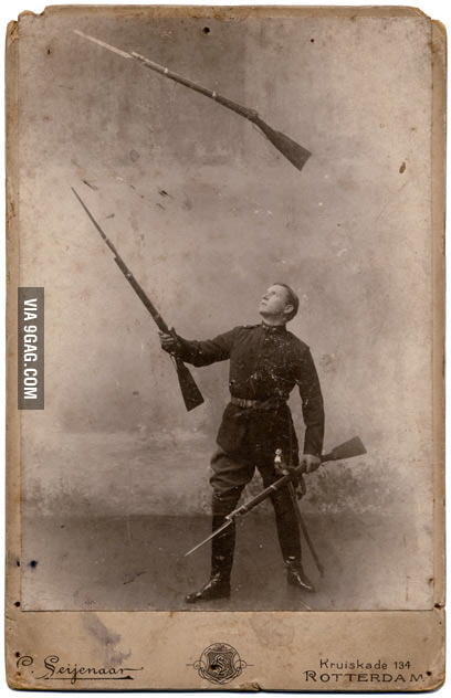 Overly manly man's hobby