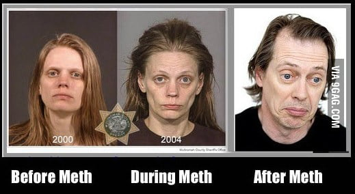 how to clean chrystal meth